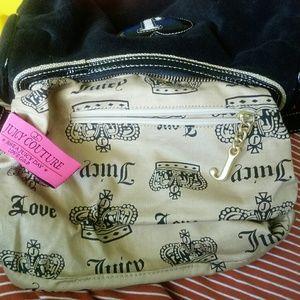 Juicy Couture Bags - Juicy Couture black plush purse